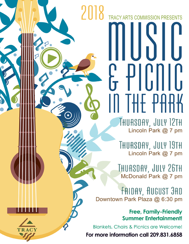 Music in the Park One Sheet