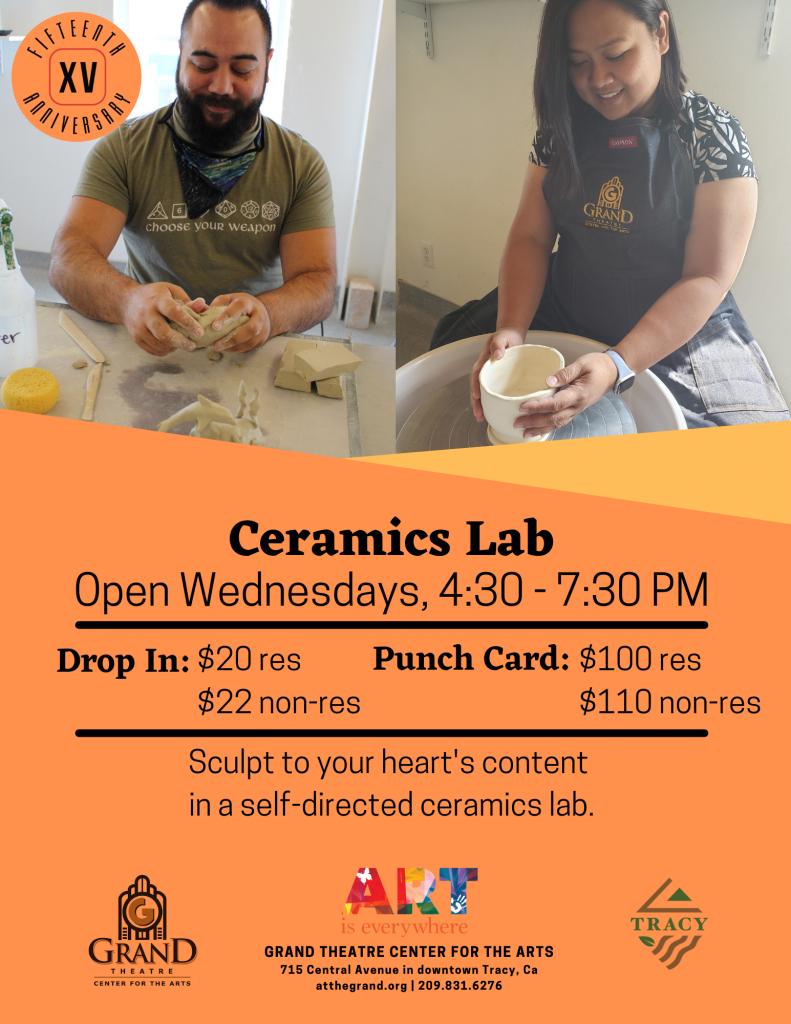 Ceramics Lab 2021