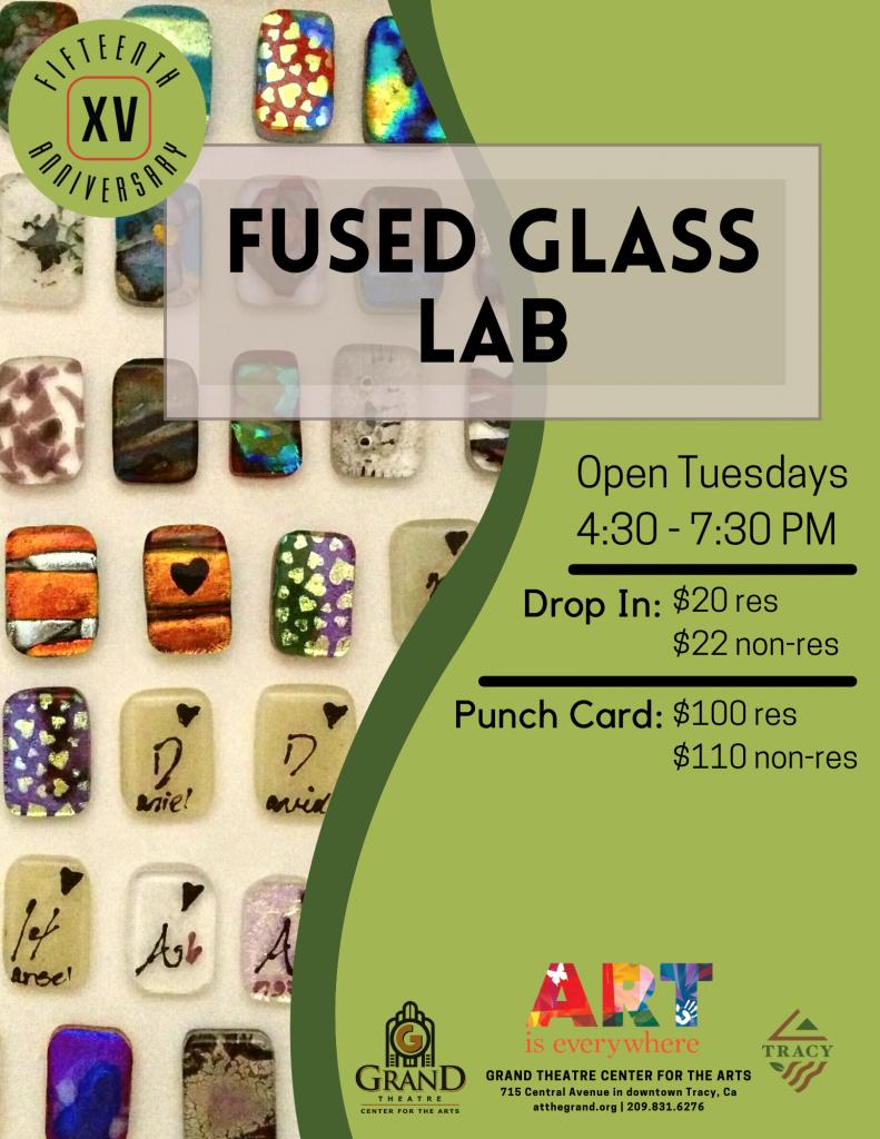 Fused Glass Lab 2021-22